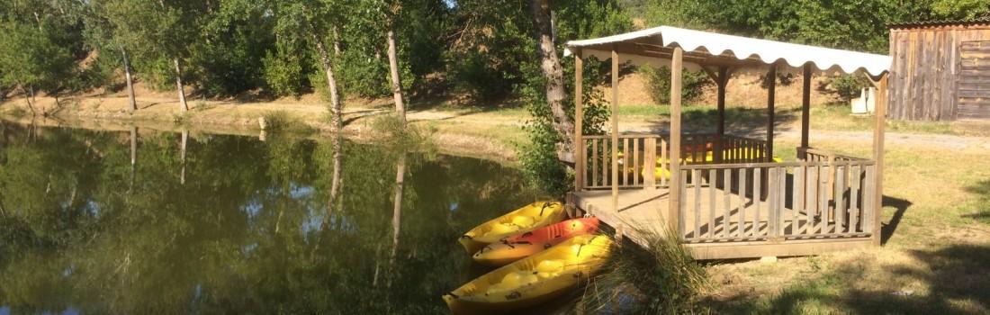 ponton et canoe