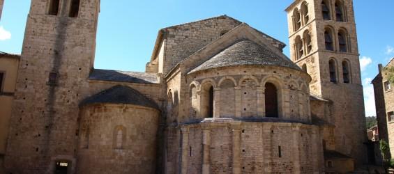 Caunes_Minervois_L'Abbaye_Vue_n°4