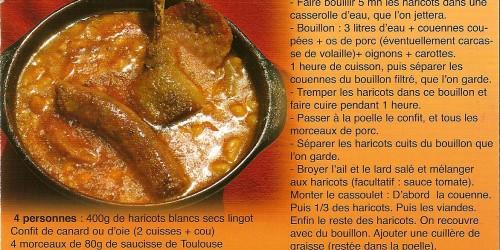 Recette-Cassoulet